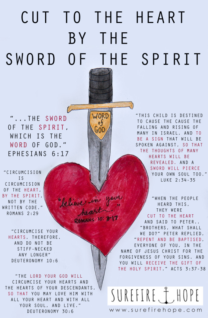 Cut to the Heart by the Sword of the Spirit - Surefire Hope - Bible Study